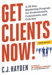Get Clients Now book