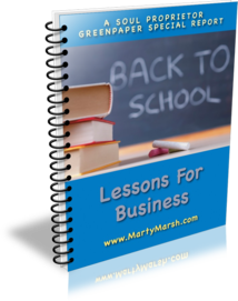 Back to School Lessons for Business Report Cover