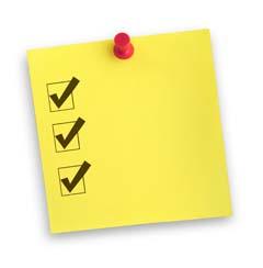 Checklist on StickyNote