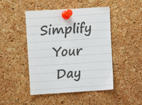 9 Ways to Simplify Your Day