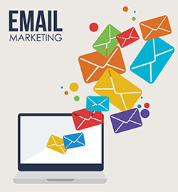 Colorful Email Marketing Graphic