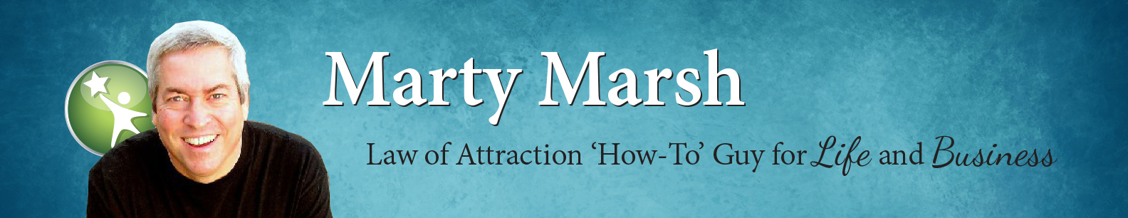 Inspire, uplift and motivate your people with a dynamic, interactive Law of Attraction presentation by Marty Marsh